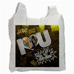 i heart you recycle bag - Recycle Bag (One Side)