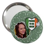 Proud to be Irish 3  Handbag Mirror