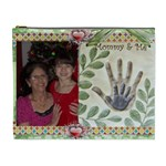 Mommy and Me Cosmetic Bag (XL) 2 sides