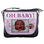 Oh Baby Girl Messenger Bag
