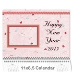 Family calendar 2013 - Happy New Year - Wall Calendar 11  x 8.5  (12-Months)