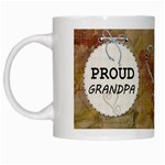Proud Grandpa Mug - White Mug
