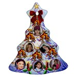 Family Photo Christmas tree ornament 2 sides - Christmas Tree Ornament (Two Sides)
