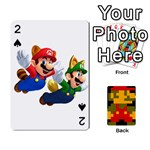 Mario - Playing Cards 54 Designs (Rectangle)
