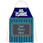 Great fathers get promoted to grandfathers. - Full Print Apron