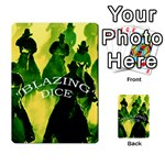 Blazing Dice -2 - Multi-purpose Cards (Rectangle)