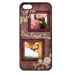 Pink Live, Laugh, Love iPhone 5 Case - iPhone 5 Seamless Case (Black)