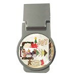 merry christmas - Money Clip (Round)
