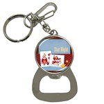 merry christmas - Bottle Opener Key Chain
