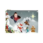 sleigh back ground cosmetic bag (Large)