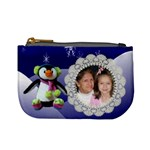 Blue Penguin Change purse - Mini Coin Purse