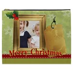 merry christmas - Cosmetic Bag (XXXL)