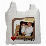 dad - Recycle Bag (One Side)
