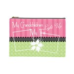 My grandchildren light up my life large cosmetic - Cosmetic Bag (Large)