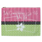 My grandchildren light up my life XXL cosmetic - Cosmetic Bag (XXL)