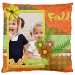 flower kids - Large Cushion Case (Two Sides)