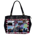Argyle Flowers Office Handbag - Oversize Office Handbag