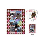 Flower Argyle Playing Cards - Playing Cards Single Design (Mini)