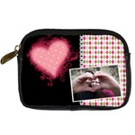 Love - Leather Camera Case - Digital Camera Leather Case