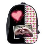Love - Backpack Large - School Bag (Large)