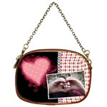 Love - Chain Purse - Chain Purse (One Side)