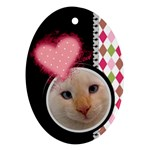 Love - Oval ornament - Ornament (Oval)
