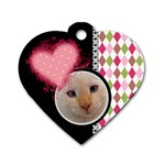 Love - Dog Tag Heart 2 sides - Dog Tag Heart (Two Sides)