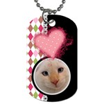 Love - Dog Tag - Dog Tag (One Side)