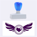 fly love - Rubber Stamp (Large)