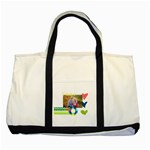 Playful Hearts - Two Tone Tote Bag