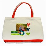 Playful Hearts - Classic Tote Bag (Red)