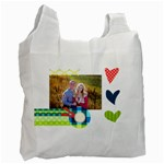 Playful Hearts - Recycle Bag (Two Side)