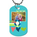 Playful Hearts - Dog Tag (Two Sides)