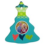 Playful Hearts - Ornament (Christmas Tree)