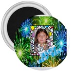 Happy New Year Magnet - 3  Magnet