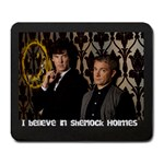 Sherlock mousepad - Large Mousepad