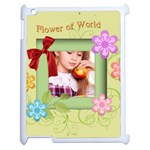 flower of kids - Apple iPad 2 Case (White)