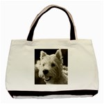 westie.puppy.tote.bag - Basic Tote Bag