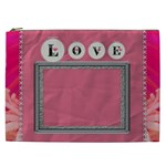 Pink Love XXL Cosmetic Bag - Cosmetic Bag (XXL)