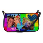 Rainbow Stitch - Shoulder Clutch Bag