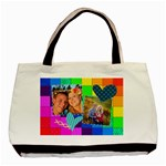 Rainbow Stitch - Basic Tote Bag