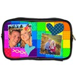 Rainbow Stitch - Toiletries Bag (Two Sides)