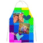 Stitched Quilted Rainbow - Full Print Apron