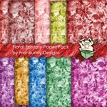 Floral Fantasy Background Papers