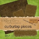 DesignsbyCat - Burlap Preview