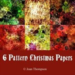 6 Pattern Christmas Backgrounds