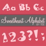 Pink Sweetheart Alphabet