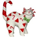 candy cane cat