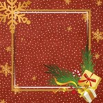 Golden Christmas Theme kits