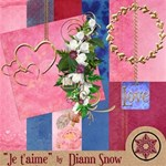 Je t aime! Large Kit! New Elements Added